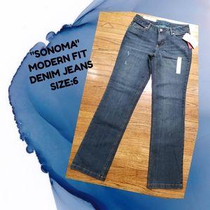 "🆕️""SONOMA"" Modern Fit Denim Jeans"